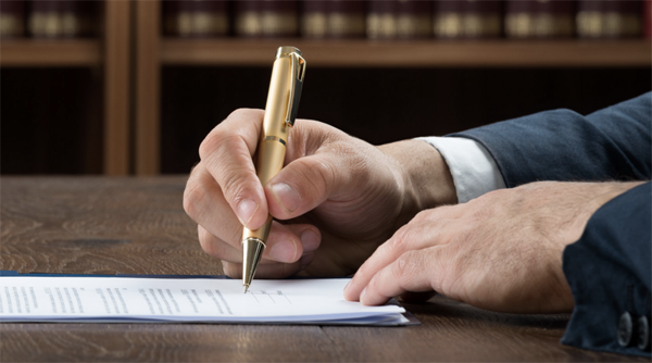 Berkshire solicitors, a person signing a document giving someone lasting powers of attorney